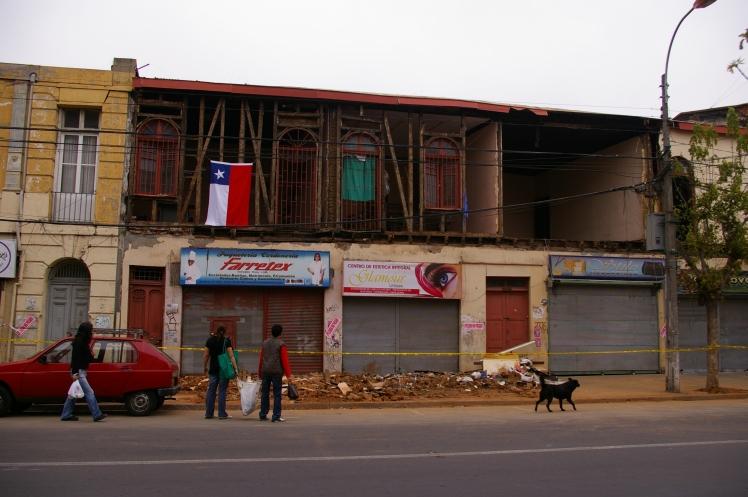 Valparaiso - daños de terremoto.