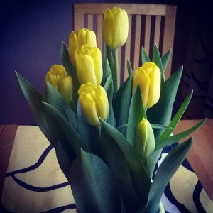 Have a nice Easter holiday! Yellow is, by the way, color of Hope and Joy!