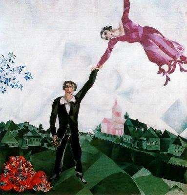 Chagall, Marc_El paseo